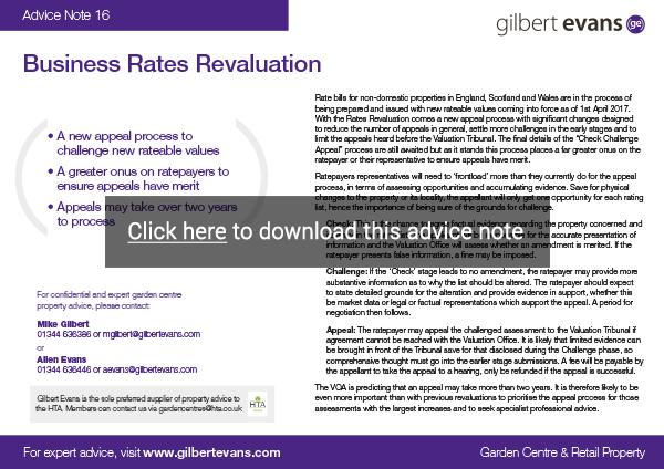 gilbert-evans-advice-note-14-november-2016