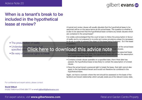 Advice Note 20